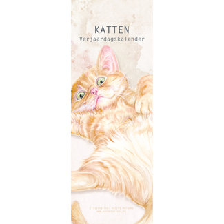 AnimalPrints Katzen Geburtstagskalender