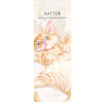 AnimalPrints Katten Verjaardagskalender