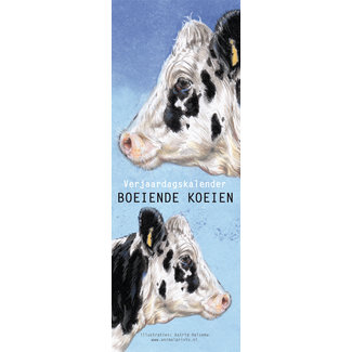 AnimalPrints Kühe Geburtstagskalender