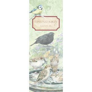 AnimalPrints Vogel-Geburtstags-Kalender