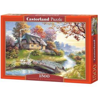 Castorland 1500 Cottage Puzzle Pieces