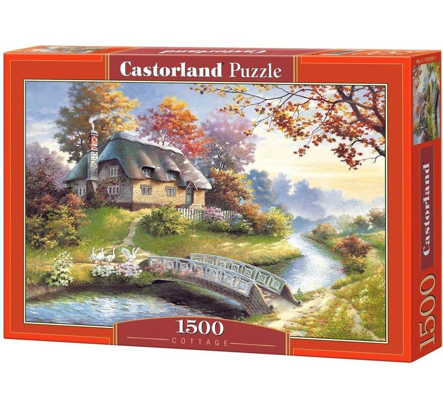 Cottage Puzzel 1500 Stukjes