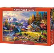 Castorland Mountain Hideaway Puzzel 1500 Stukjes