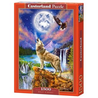 Castorland Wolfs Night Puzzel 1500 Stukjes
