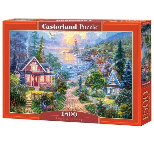 Castorland Coastal Living Puzzel 1500 Stukjes