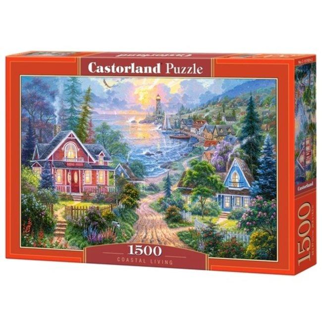 Castorland Coastal Living 1500 Puzzleteile