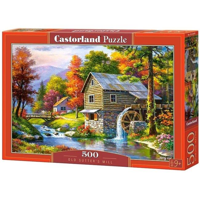 Castorland Old Sutters Mühle 500 Puzzle Pieces