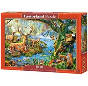 Castorland Forest Life Puzzle 500 Pieces