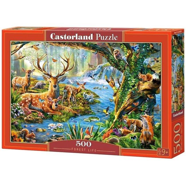 Castorland Forest Life Puzzel 500 Stukjes