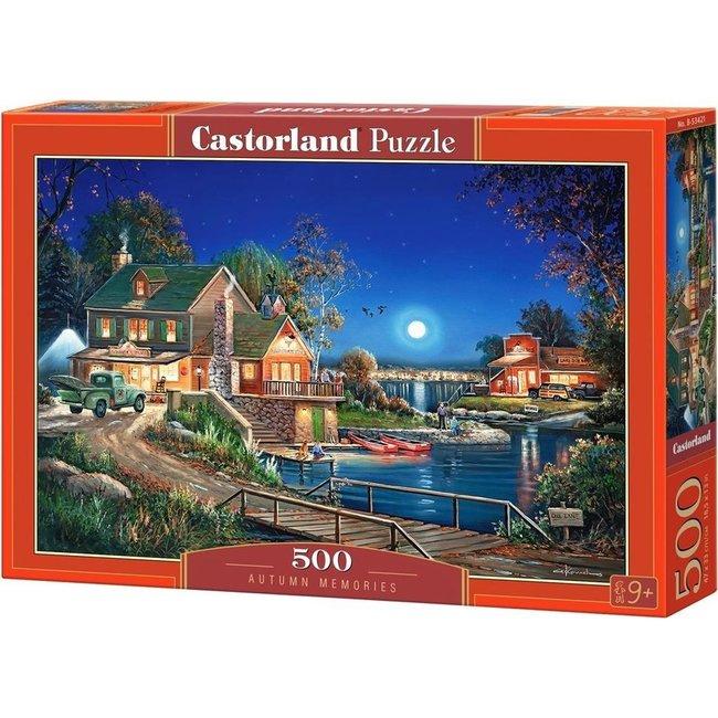 Autumn Erinnerungen Puzzle 500 Stück