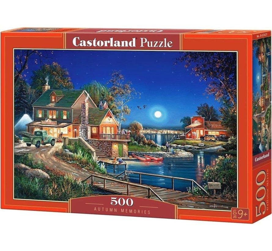 Autumn Memories Puzzel 500 Stukjes