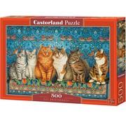 Castorland Cat Aristocracy 500 Puzzle Pieces