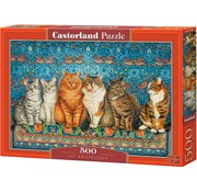 Castorland Cat Aristocracy Puzzel 500 Stukjes