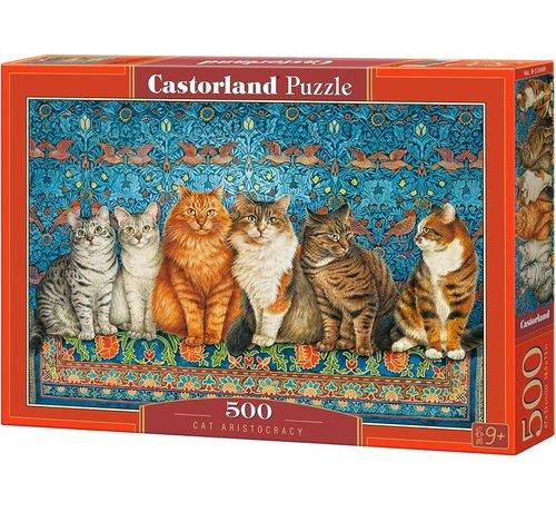 Castorland Cat Aristocracy Puzzel 500 Stukjes