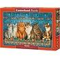 Cat Aristocracy Puzzel 500 Stukjes