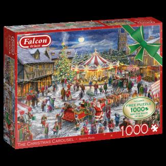 Falcon Das Weihnachtskarussel 2x 1000 Stück
