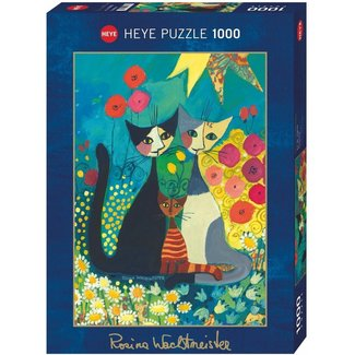 Heye Rosina Wachtmeister Puzzle Pieces flowerbed 1000