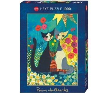 Heye Rosina Wachtmeister Puzzel Flowerbed 1000 Stukjes
