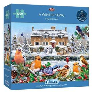 Gibsons A Winter Song Puzzel 1000 Stukjes