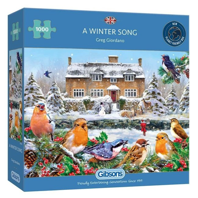 A Winter Song Puzzle-Stücke 1000