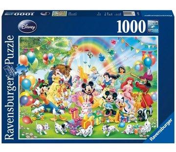 Ravensburger Disney Mickey is Jarig Puzzel 1000 Stukjes