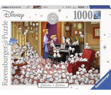 Ravensburger Disney 101 Dalmatiërs Puzzel 1000 Stukjes