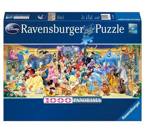 Ravensburger Disney Groepsfoto Puzzel 1000 Stukjes