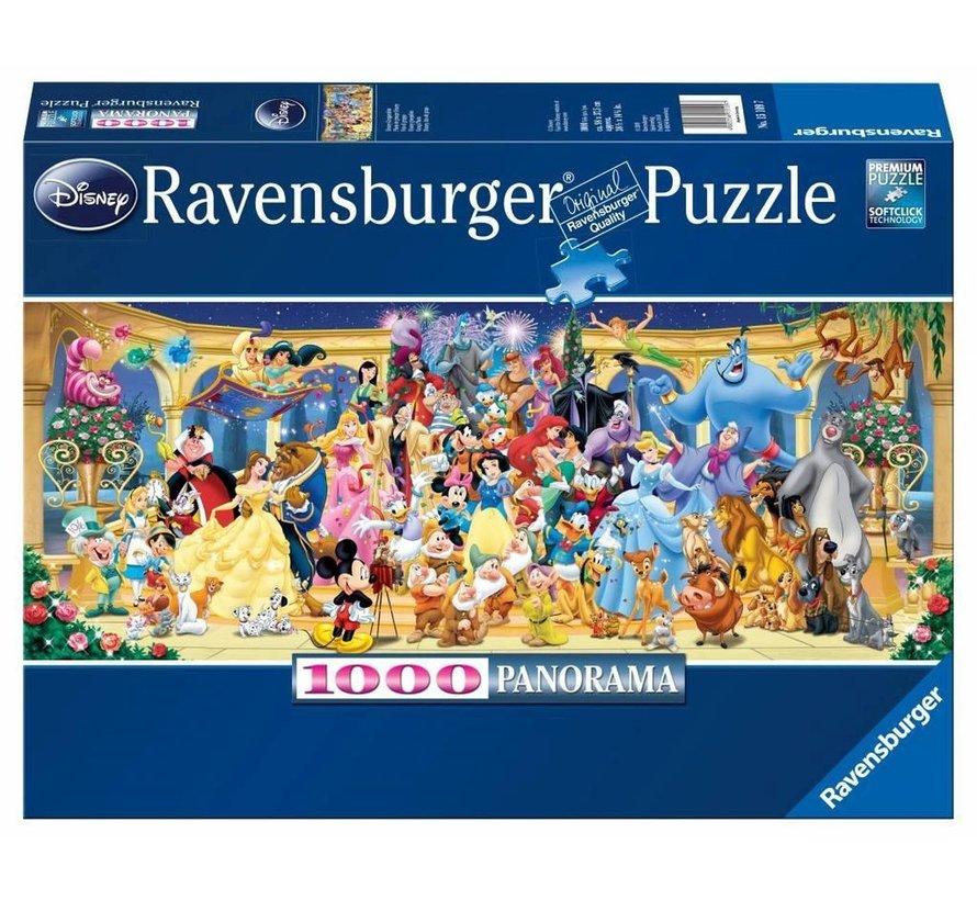 Disney Groepsfoto Puzzel 1000 Stukjes