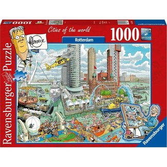 Ravensburger Fleroux Rotterdam Puzzel 1000 Stukjes