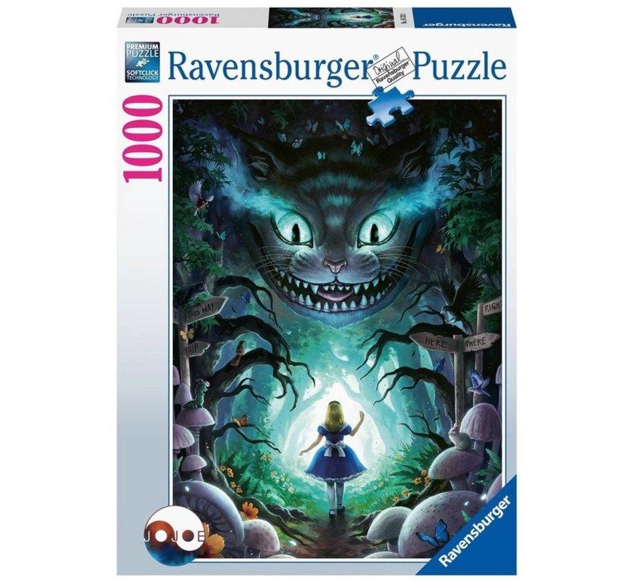 Disney Avonturen met Alice Puzzel 1000 Stukjes