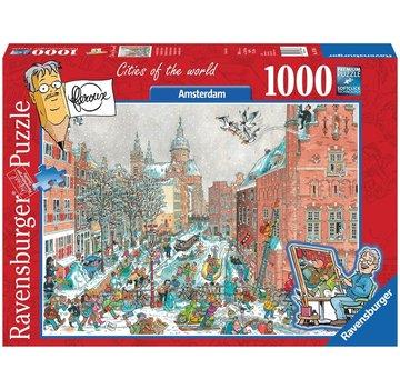 Ravensburger Amsterdam in Winter - Fleroux 1000 Puzzle Pieces