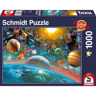 Schmidt Puzzle Outer Space Puzzel 1000 Stukjes