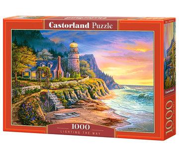 Castorland Lighting the Way Puzzel 1000 Stukjes