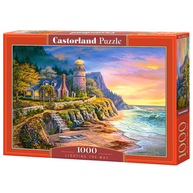 Beleuchtung der Weg 1000 Puzzleteile