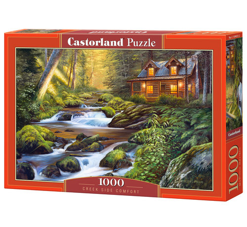 Castorland Creek Side Comfort Puzzel 1000 Stukjes