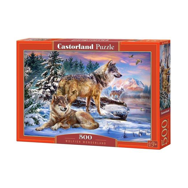 Castorland Wolfish Wonderland Puzzle 500 Stück