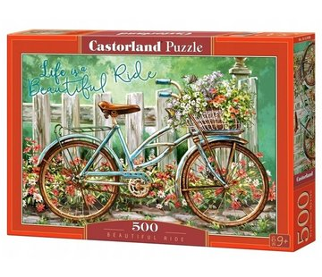 Castorland Beautiful Ride Puzzel 500 Stukjes