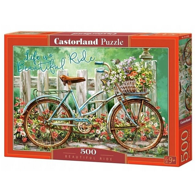 Castorland Beautiful Ride Puzzel 500 Stukjes