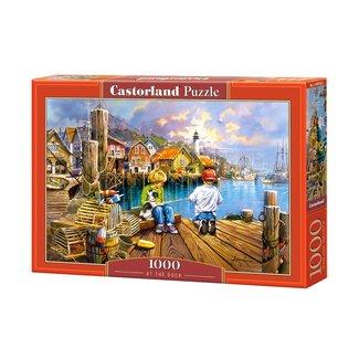 Castorland At the Dock Puzzel 1000 Stukjes