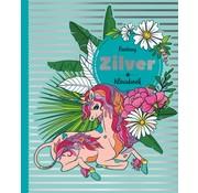 Inter-Stat Fantasy Zilver Kleurboek