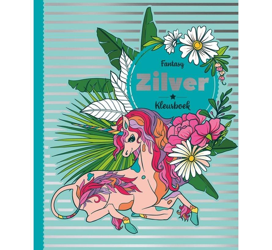 Fantasy Zilver Kleurboek