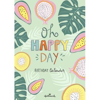 Hallmark Funny Side Up Birthday Calendar