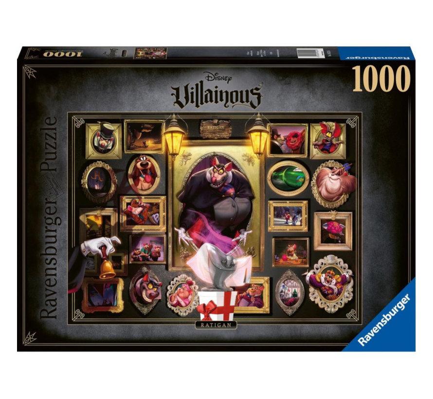 Disney Villainous - Ratigan Puzzel 1000 Stukjes