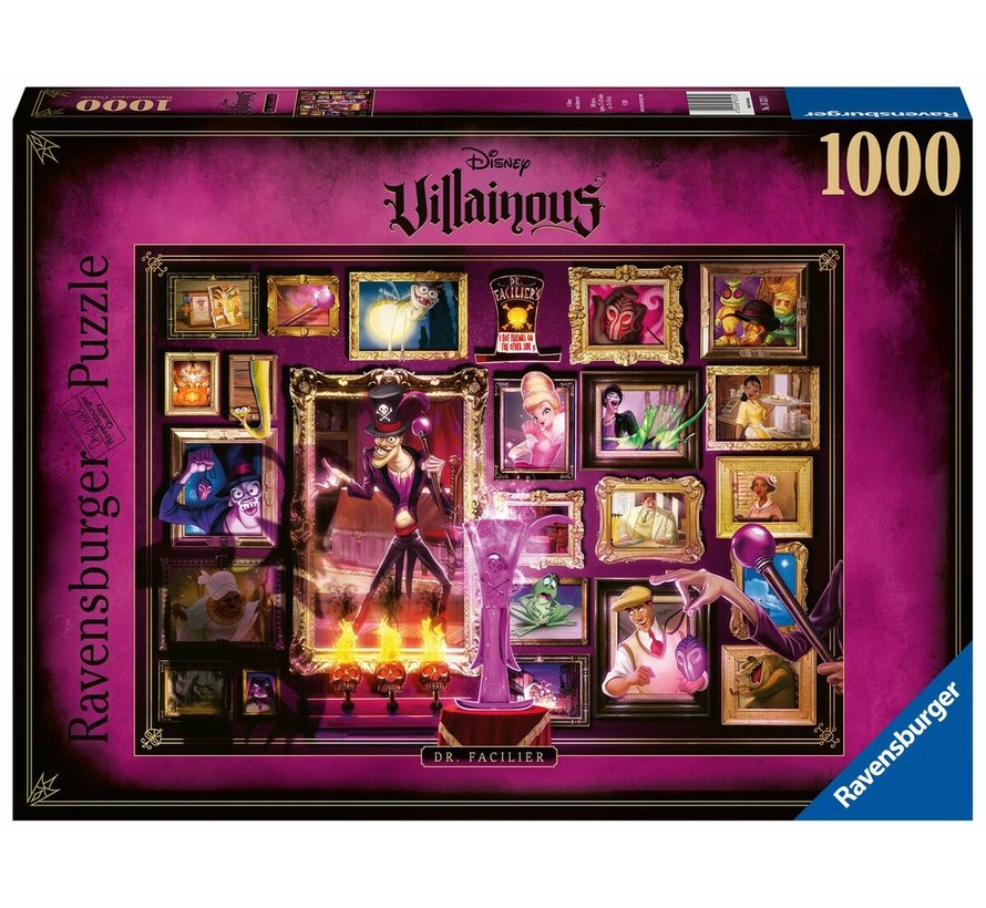 Disney Villainous - Dr. Facilier Puzzel 1000 Stukjes