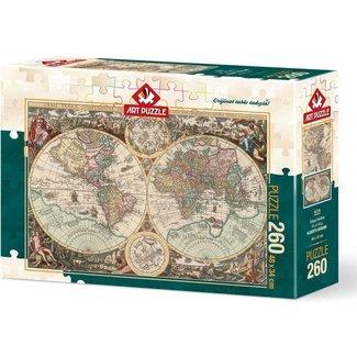 Art Puzzle World Map Puzzel 260 XXL Stukjes