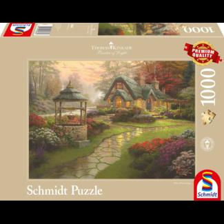 Schmidt Puzzle Make a Wish Cottage Puzzel 1000 Stukjes