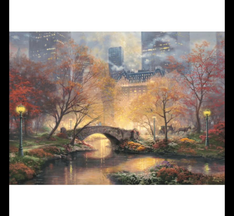 Autumn in Central Park Puzzel 1000 Stukjes
