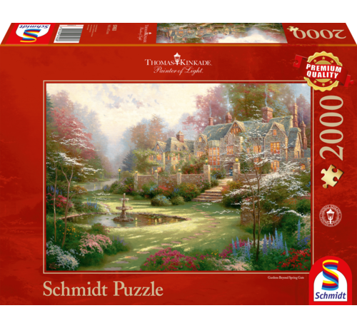 Schmidt Puzzle Gardens beyond Spring Gate Puzzel 2000 stukjes