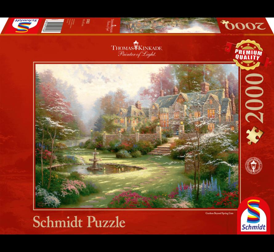 Gardens beyond Spring Gate Puzzel 2000 stukjes