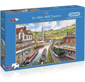 Gibsons Ye Olde Mill Tavern Puzzle Pieces XL 500